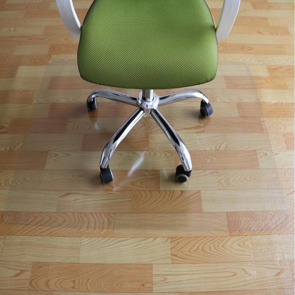 Hot Pvc 48 X36 Chair Office Home Desk Mat For Wood Floors 48 X